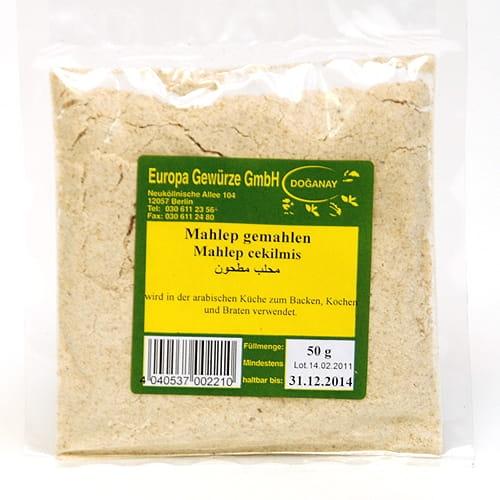 Mahlep (mahaleb), zmielone ziarna wiśni wonnej, 50 g