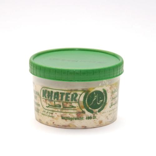 Chałwa naturalna z pistacjami, Khater, 400 g